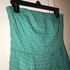J. Crew strapless mini dress